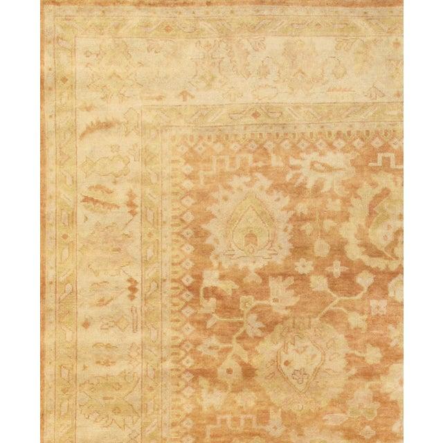 """Oushak Handmade Wool Area Rug - 9' X 12'1"""" - Image 2 of 2"""