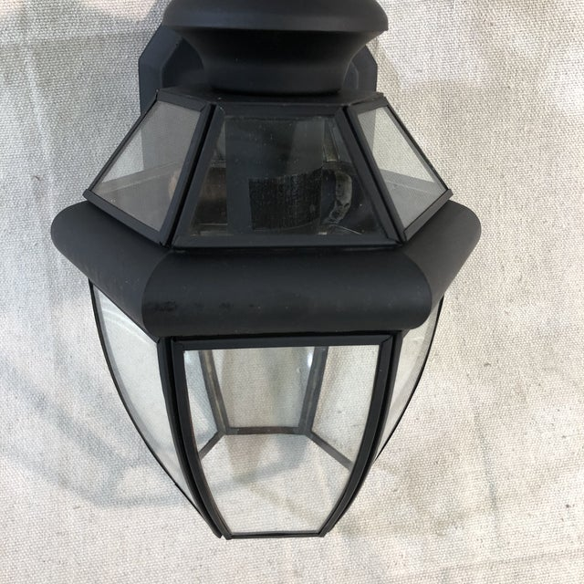 Livex Monterey 1-Light Outdoor Lantern Wall Sconce For Sale In Washington DC - Image 6 of 12