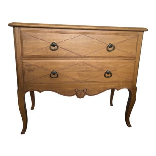Traditional 2 Drawer Accent Chest For Sale