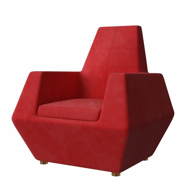 Not Yet Made - Made To Order Stealth Lounge Chair by Artist Troy Smith - Contemporary Design - Custom Furniture For Sale - Image 5 of 8