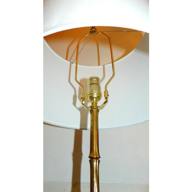 Vintage French Maison Bagues Floor Lamps - Pair - Image 5 of 5
