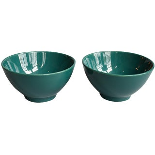 French Coffee Bowls - A Pair For Sale