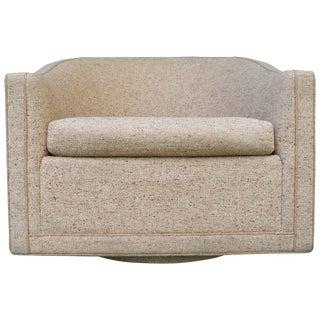 Mid-Century Modern Swivel Chair by Benjamin Baldwin for Larsen Furniture For Sale