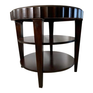 Lexington Nautica Round Lamp Table For Sale