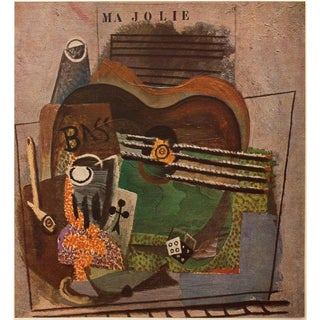 """1947 Contemporary Lithograph, """"Ma Jolie"""" by Picasso For Sale"""