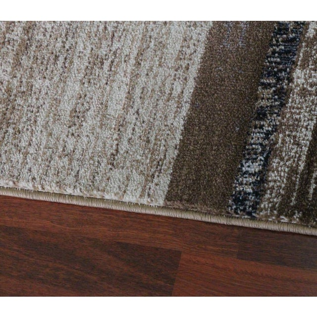 "Brown Neutral Rug - 5'3"" X 7'7"" For Sale - Image 5 of 5"