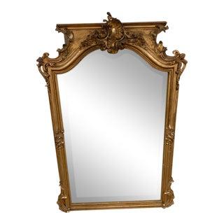 18th Century Grand Napoleon III Wall Mirror For Sale