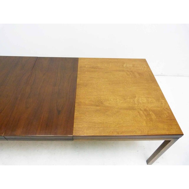 Milo Baughman-Attributed Parsons Dining Table - Image 4 of 9