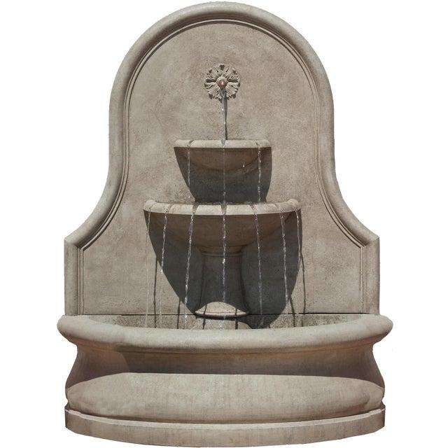 Neoclassical La Jolla Wall Fountain For Sale - Image 3 of 3