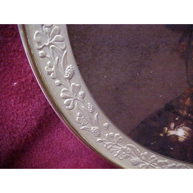 """Portraiture Gorham Gallery of the Masters Plate """"Man With a Gilt Helmet"""", 1647 For Sale - Image 3 of 6"""