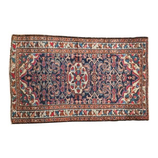 "Vintage Persian Dargezine Rug - 2'7"" X 4'1"" For Sale"