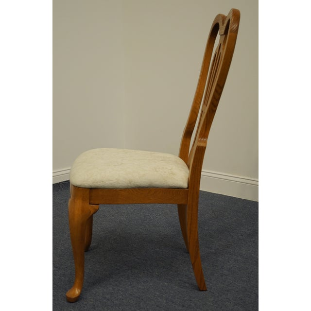 Pennsylvania House Solid Oak Country French Side Chair For Sale In Kansas City - Image 6 of 11