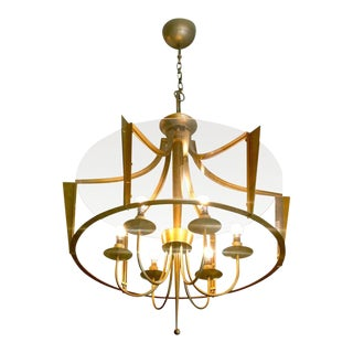 Raymond Subes Rare, Superb Neoclassic 1940s Chandelier For Sale