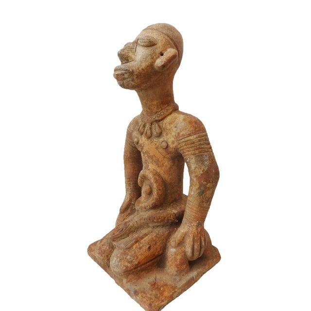 Bamun Male Terracota Figurine For Sale - Image 5 of 8