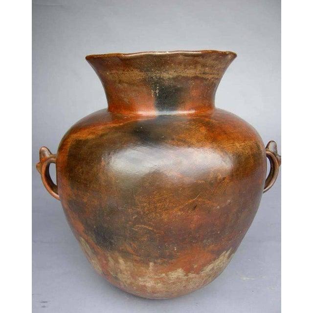 Antique Ceramic Florero Pot For Sale In Los Angeles - Image 6 of 6