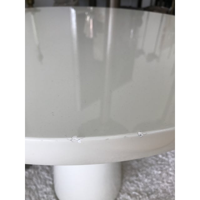 2010s Signed Holly Hunt End Table For Sale - Image 5 of 10