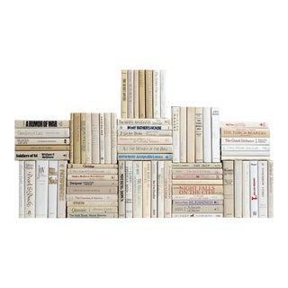 Retro Neutral Book Wall, S/75