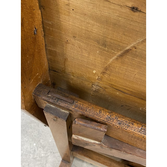 Mid 19th Century 19th Century French Tilt Top Tavern or Wine Table For Sale - Image 5 of 9