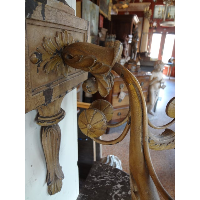 19th Century Italian Neoclassical Sconces, Pair For Sale In New Orleans - Image 6 of 10
