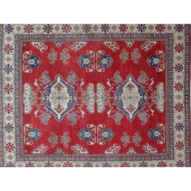 "Leon Banilivi Kazak Carpet - 8'6"" X 10'2"" For Sale - Image 5 of 8"