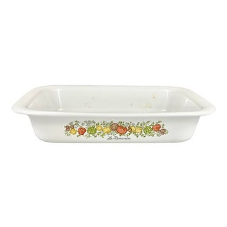 Vintage Corning Ware Le Romarin Serving Dish For Sale