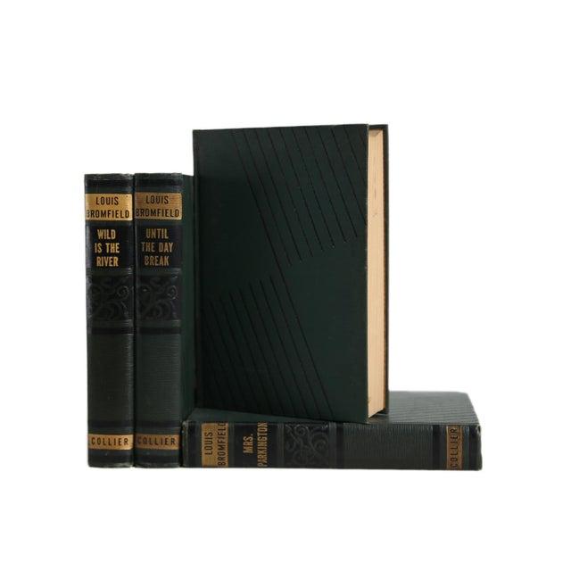 Art Deco Vintage Decorative Book Gift Set: Green Art Deco Novels For Sale - Image 3 of 5