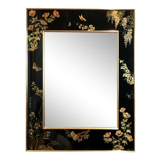 Labarge Eglomise Chinoiserie Mirror For Sale
