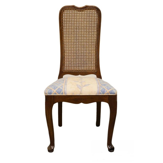 Brown Late 20th Century Vintage Davis Cabinet Co. Cherry Dining Chair For Sale - Image 8 of 8