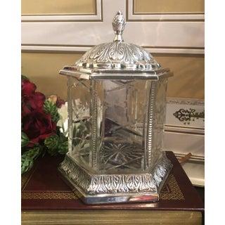 Vintage Victorian Ladies Dresser Jar Preview