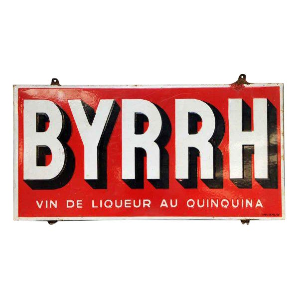 Byrhh Liquor Sign - Image 1 of 4
