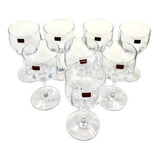 Baccarat Montaigne Wine Glasses - Set of 8 --Retail Msrp $1080
