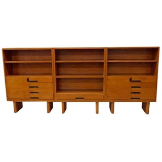 Gilbert Rohde for Herman Miller Mahogany Bookshelf Units - Set of 3 For Sale