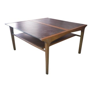1960s Danish Modern John Van Koert Coffee Table For Sale