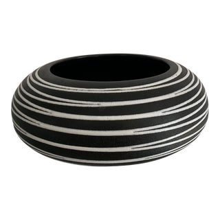 1990s Royal Haeger Multi Directional Bowl For Sale