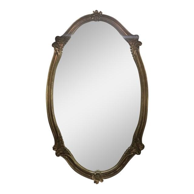 Vintage Gilt Frame Wall Mirror For Sale