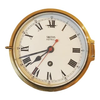 1930s Smiths Astral Ships Clock For Sale