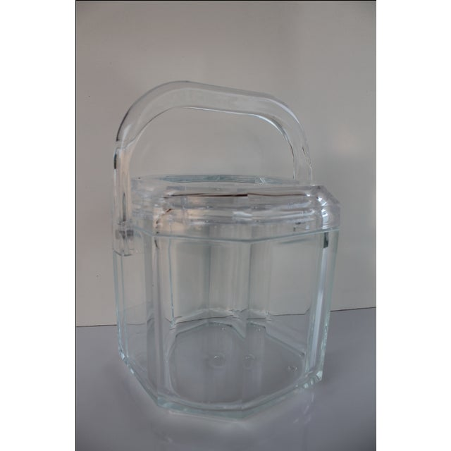 Albrizzi Style Mid-Century Lucite Ice Bucket - Image 2 of 9