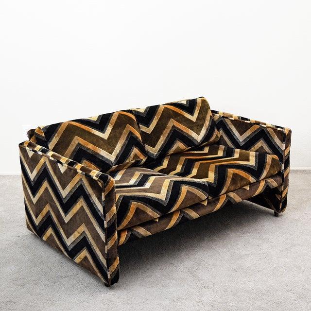 Mid Century Milo Baughman Style Case Sofa For Sale - Image 13 of 13