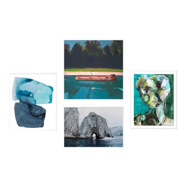 Vitamin Sea Gallery Wall, Set of 4 For Sale