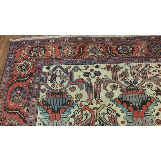 Type: Bakshaish Origin: Persia US Size: 7' x 8' Circa: 1890 Metric Size: 2.13 x 2.44 meters