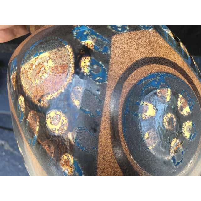 Mid Century Israeli Lapid Vase For Sale In Chicago - Image 6 of 10