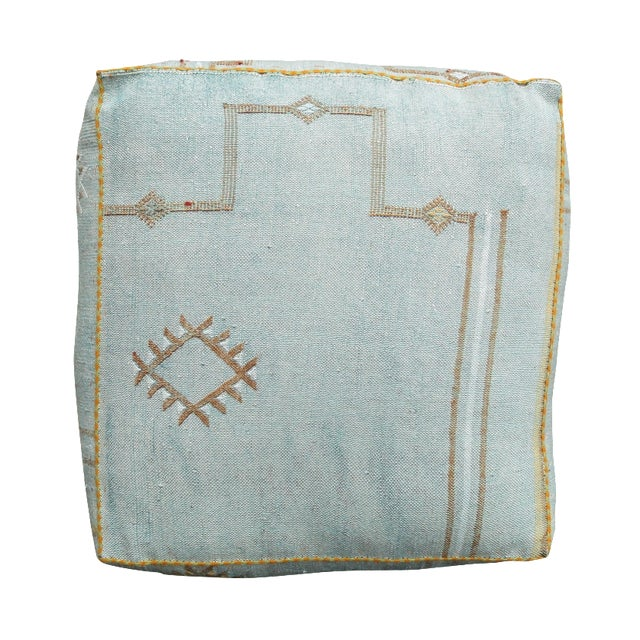 Sabra Silk Moroccan Floor Pillow - Image 1 of 3