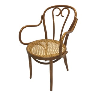 Vintage Bentwood Thonet Style Captain's Chair