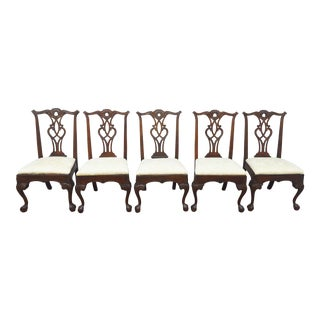 Henredon Rittenhouse Square Set of 5 Dining Chairs For Sale