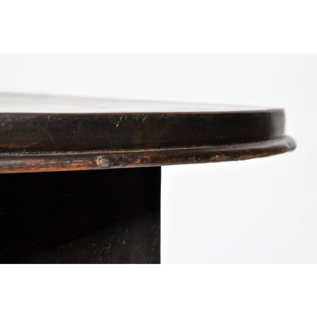 British Colonial Burmese Round Table For Sale - Image 9 of 11