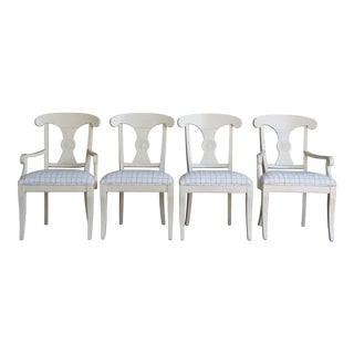 Ethan Allen New Country Dining Chairs - Set of 4 For Sale
