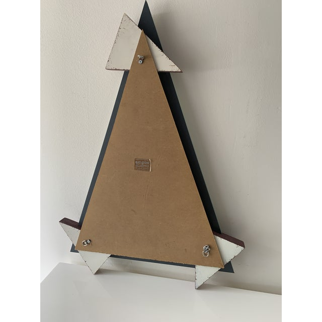 1980's Memphis Design Mirror & Shelf - 2 Pieces For Sale - Image 10 of 13