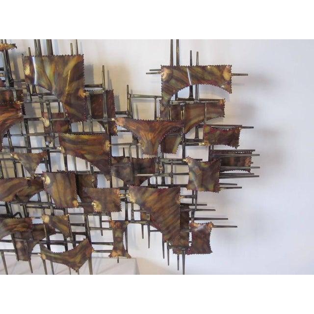 Brutalist Silas Seandel Styled Large Brutalist Wall Sculpture For Sale - Image 3 of 7