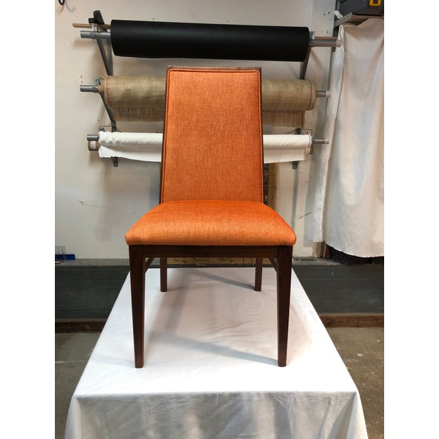 1970s Vintage Milo Baughman for Dillingham Walnut Side Chair For Sale In San Francisco - Image 6 of 6