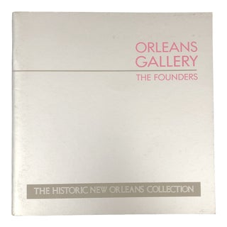 Orleans Gallery the Founders 1982 For Sale